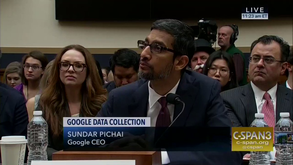 Google's CEO had to remind Congress that Google doesn't make iPhones