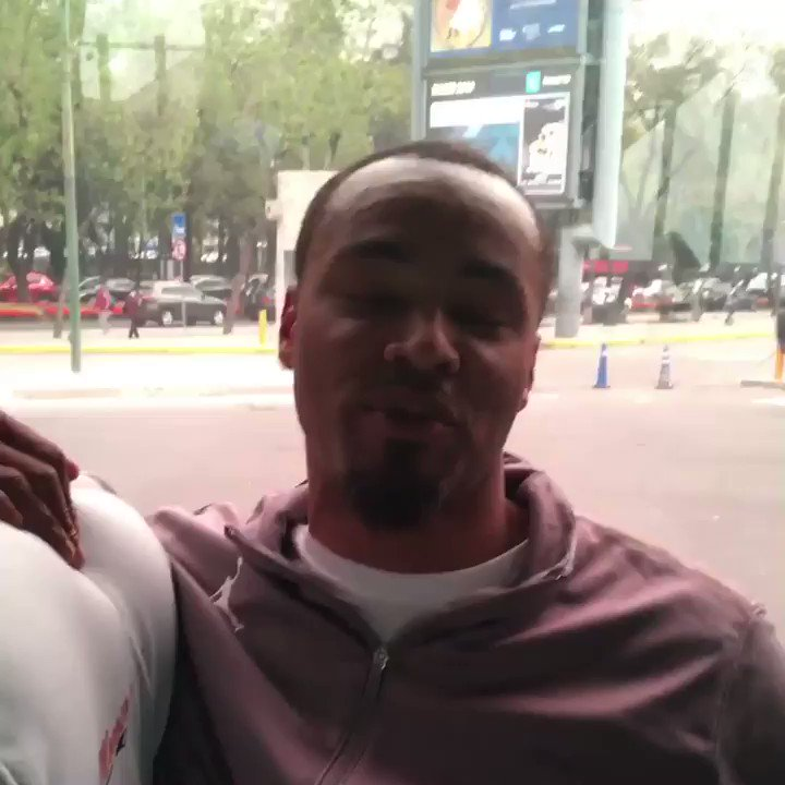 2x All-Star and NBA Champ Rashard Lewis checks in from #NBAMexicoGames.