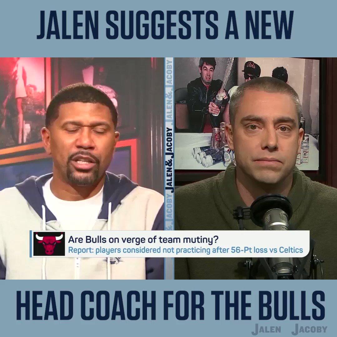 The Bulls next HC should be..........@jalenandjacoby