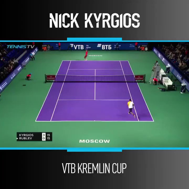 Hands up if you want to see more #SABN's in 2019 🤚 👏 @NickKyrgios 📽️: @TennisTV