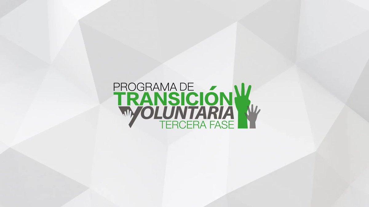 [SERVIDOR PÚBLICO] Se acerca la fecha limite para solicitar al Programa de Transición Voluntaria Fase III. Tienes hasta el 15 de DICIEMBRE. Solicita AHORA ➡️ http://bit.ly/PTV3-18 #PTV3 #TransicionVoluntaria