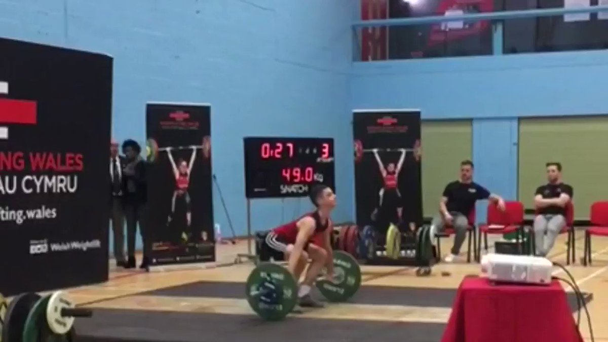 Another great performance by an @HHVCSchool student Dan Davies, he Wins Gold 🥇 and breaks 3 Welsh u15 records 👏👏👏 @WelshWeightlift Champs  @sportpembs @JonTsports @Pembrokeshire @_ukactive @FraserMercsport @VolPembs @WTGordonThomas @PersimmonHomes @RTPembs @RadioPembs