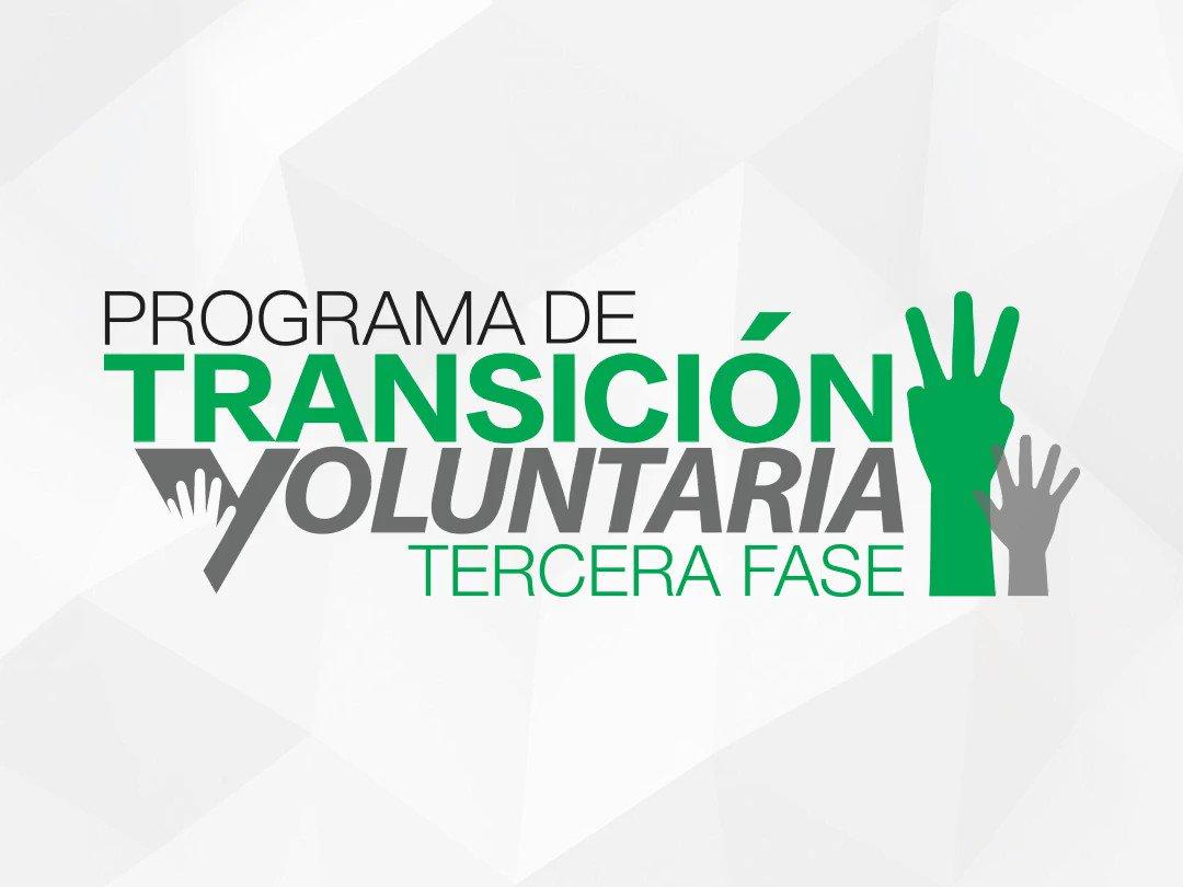 [SERVIDOR PÚBLICO] ¿Ya conoces sobre el Programa de Transición Voluntaria Fase III? Tienes hasta el 15 de DICIEMBRE de 2018 para solicitar. SOLICITA HOY: ➡️ http://bit.ly/PTV3-18  #PTV3 #TransicionVoluntaria