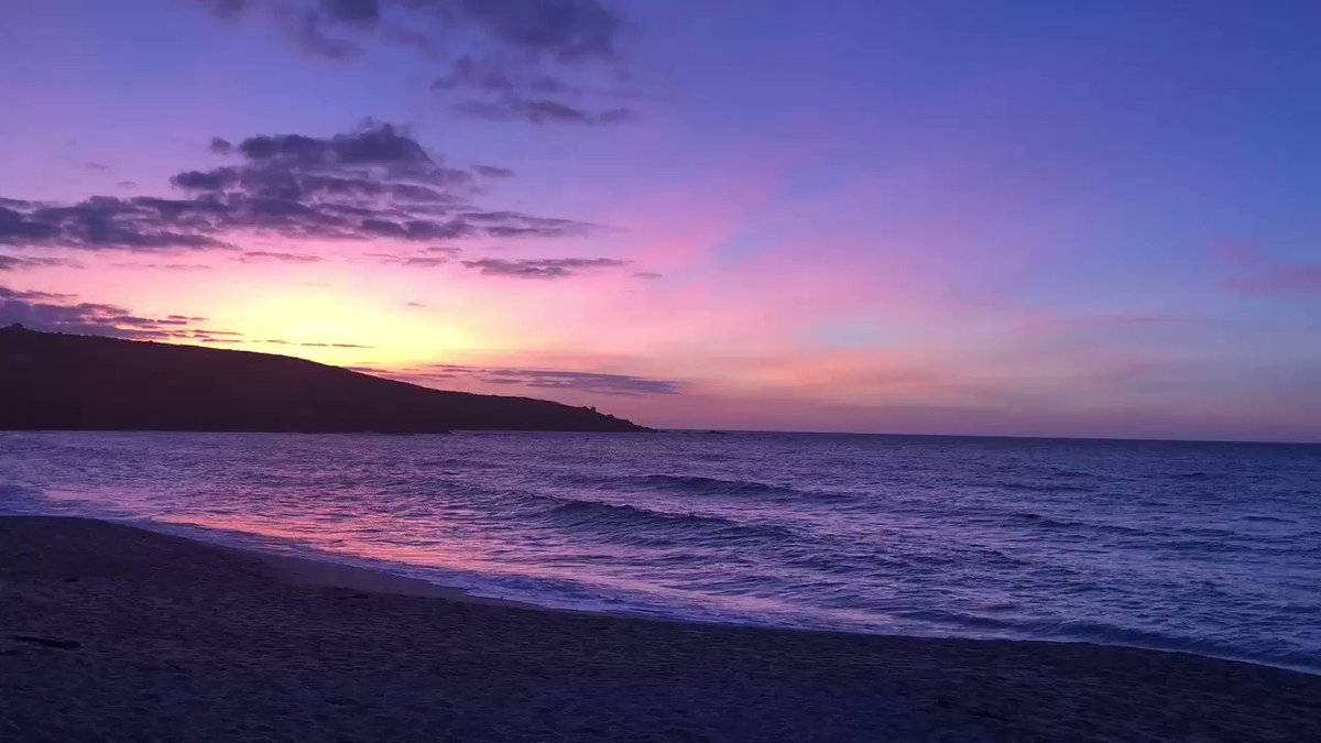 Image for the Tweet beginning: What a beautiful sunset i