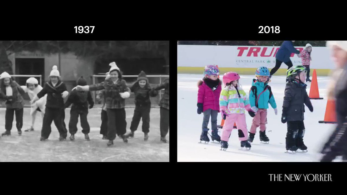 Some things don't change that much.   90 Years of Christmas in New York: https://youtu.be/MRABOpPyqFQ.