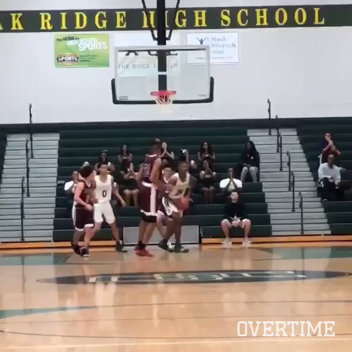 Niven Glover with the DUNK OF THE YEAR 🚨 @Icebucket_nep