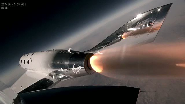7. SpaceShipTwo has completed three powered test flights