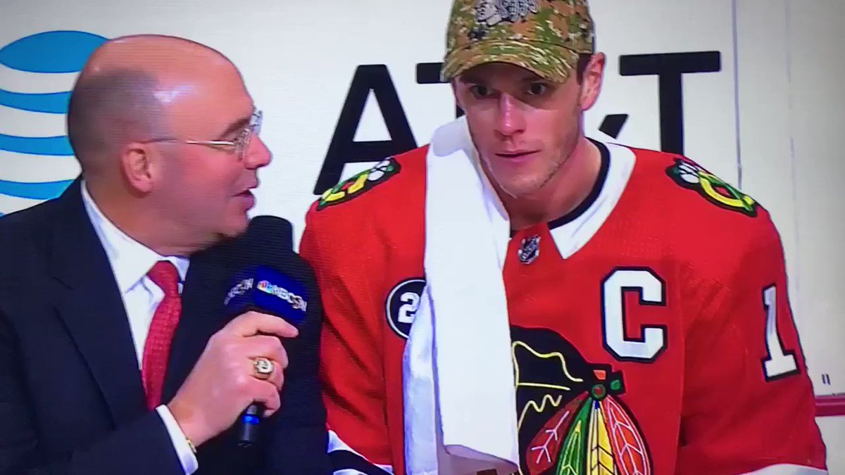 Pierre McGuire checks in with his most uncomfortable interview ever