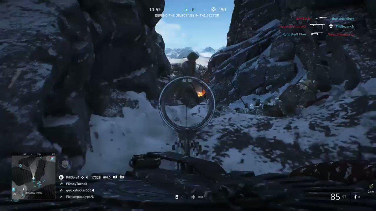 Love the lewis gun #BattlefieldV #XboxShare