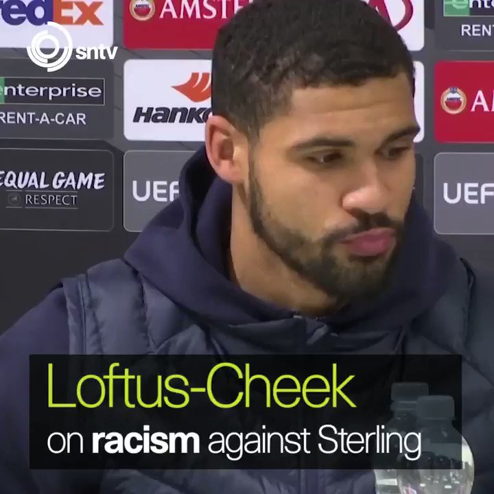 If it happened to me, Ill do the same thing, Chelsea midfielder Ruben Loftus-Cheek shows support to Manchester Citys Raheem Sterling over the alleged racism he received by some Blues fans at Stamford Bridge last Saturday.