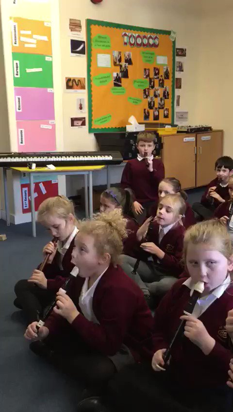 Image for the Tweet beginning: Well done otters class for