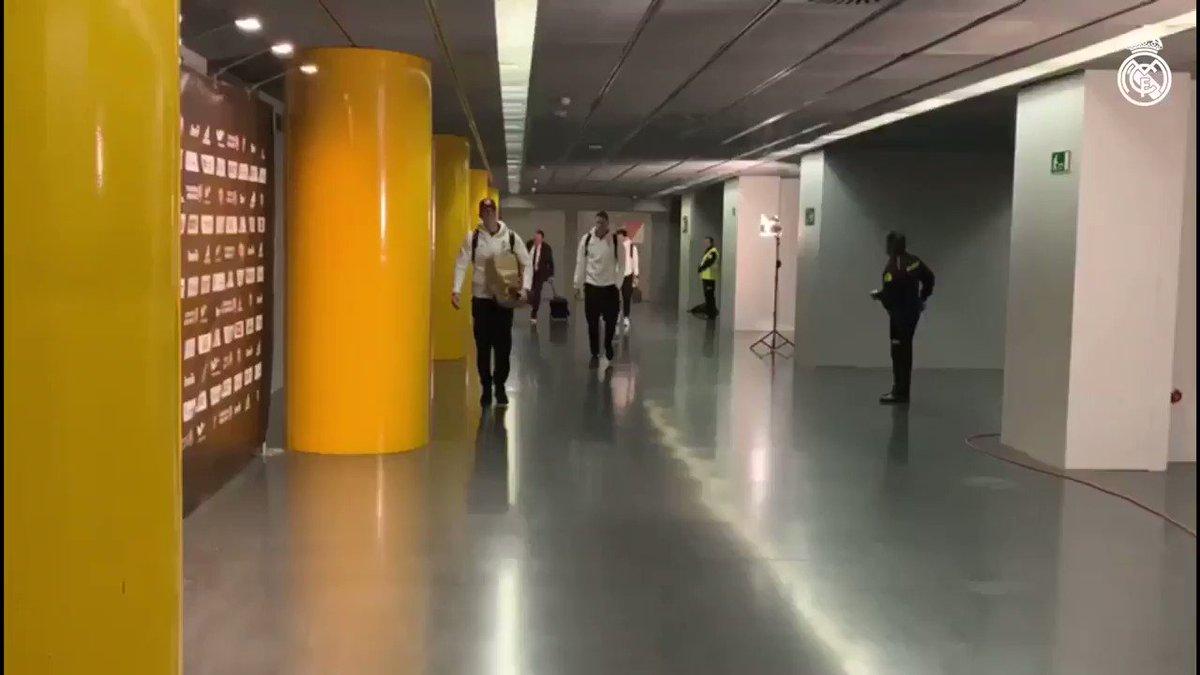 👋 Estamos en el Palacio; preparados para nuestro primer Clásico de @EuroLeague.