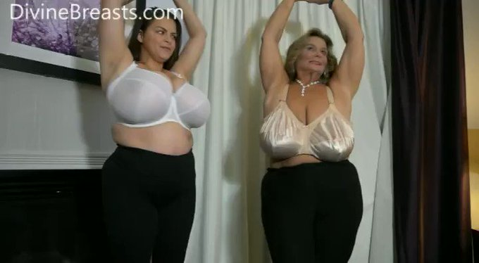 Here is part two of the Sarah meets Alaura #bigboobs video https://t.co/aMPrxjFPd1 https://t.co/JI8R