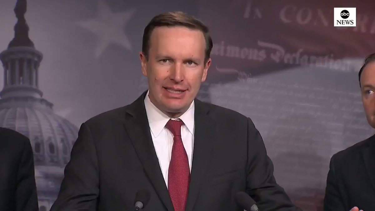 Sen. Chris Murphy: We are reasserting our responsibility to be a coequal branch with the executive in foreign policy making. Its a role that Congress has abdicated for decades. abcn.ws/2EvDwUm