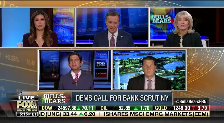 Should all banks be concerned that they're going to get skewered when Democrats take control next month? @DavidAsmanfox @JCLayfield @JonathanHoenig @lizpeek @SusanLiTV