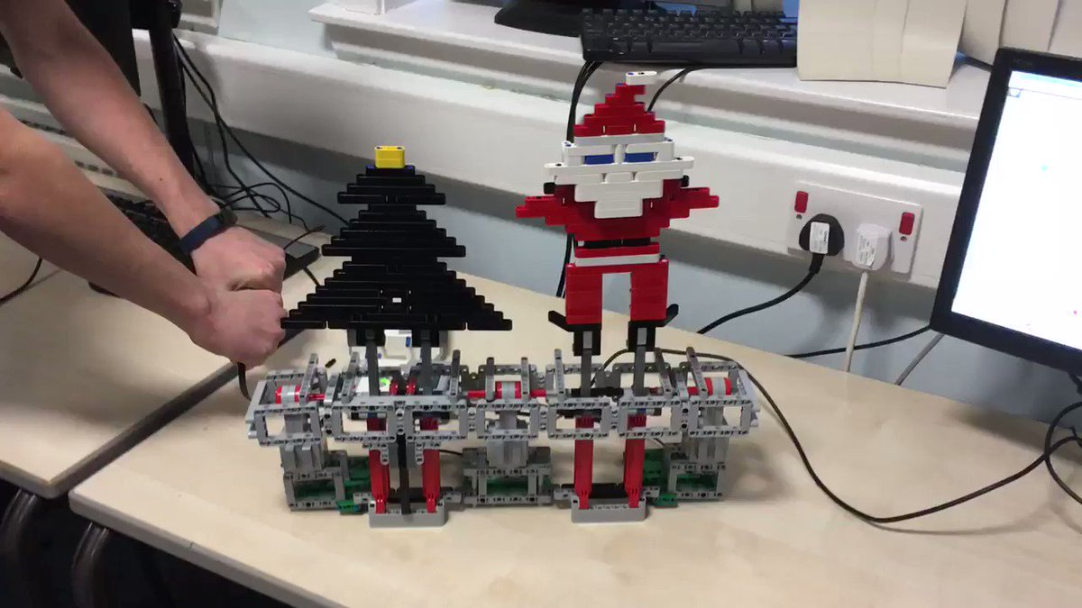 Brilliant stuff - love it! @McLarenSTEM have captured the magic of Christmas! Any chance of a Mindstorms version of @chrisreamusic 'Driving Home for Christmas'?