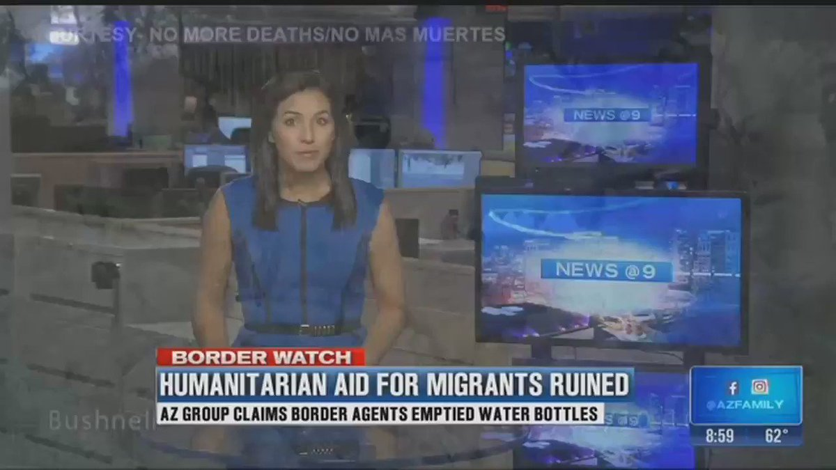 Border agents have thrown out 3586 jugs of water left for migrants in the desert.  They did this knowing that 7000 migrants have died attempting to cross.  THIS is why the death of Jackeline Caal, the 7yo migrant who died of thirst in US custody, should be referred to as murder.