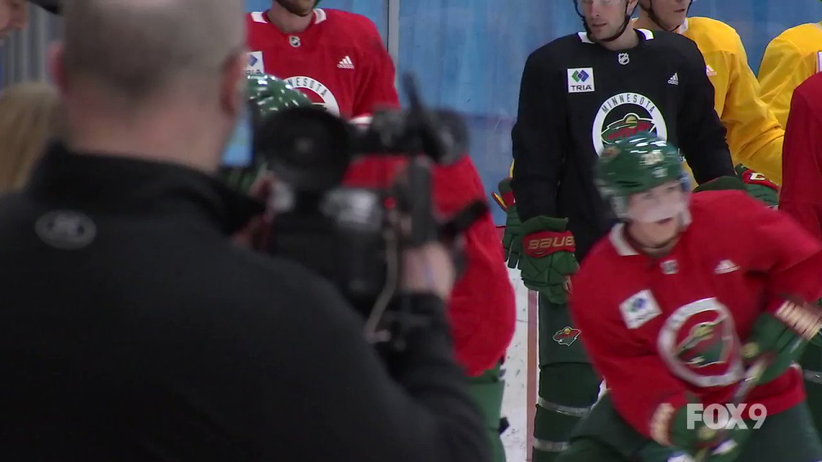 Fun to see @hannahbrandt16 skating with the #MNWild today in St. Paul.  Brandt is practicing today with the team as part of the 3rd annual Girls Hockey Weekend.  Hear from Hannah tonight on FOX 9.