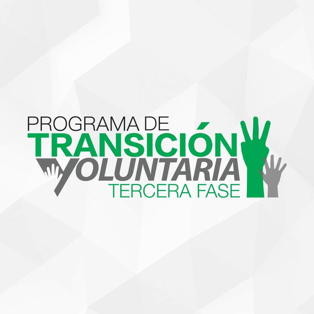 [SERVIDOR PÚBLICO] MAÑANA culmina la fecha limite para solicitar a la tercera fase del Programa de Transición Voluntaria. Solicita hoy ➡️ http://bit.ly/PTV3-18 #PTV3 #TransicionVoluntaria
