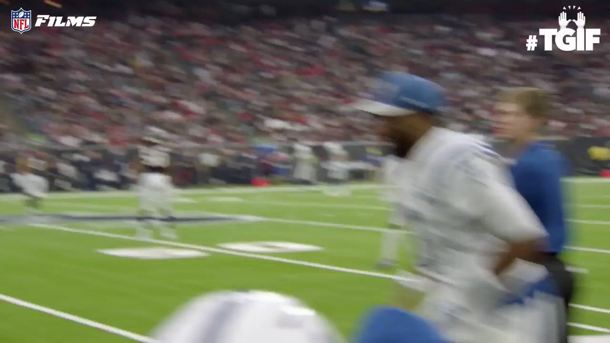 RT @NFLFilms: You and your friends meeting up after work: @Ebron85 😄🤝😄 @JBrissett12   #TGIF | @Colts https://t.co/9ebXv91jDq