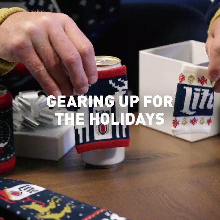 With the help of @MillerLite, my house is beaming with the holiday spirit!