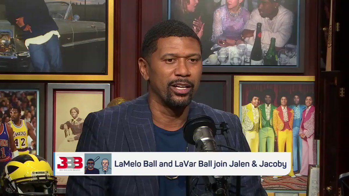 No one can silence @lavarbigballer. @jalenandjacoby