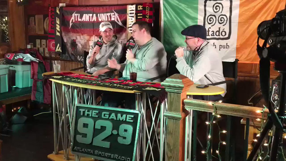 """Stoppage Time Live: Championship Edition is now available on the """"Off the Woodwork"""" podcast. Our @ATLUTD special guest was @JulianGressel! @MikeConti929 @Longshoe and I talk about the epic #MLSCup victory! ⭐️🏆"""