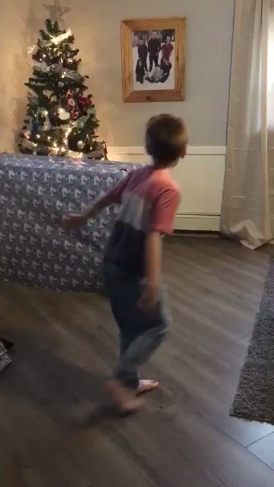 My nephew got to unwrap the only Christmas gift he asked for a few days early and his reaction broke my heart😭