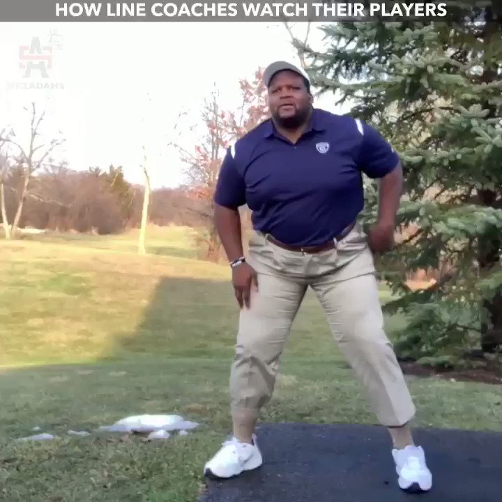 RT @spiceadams: Every line coach EVER!!!! https://t.co/10w89oIHDk