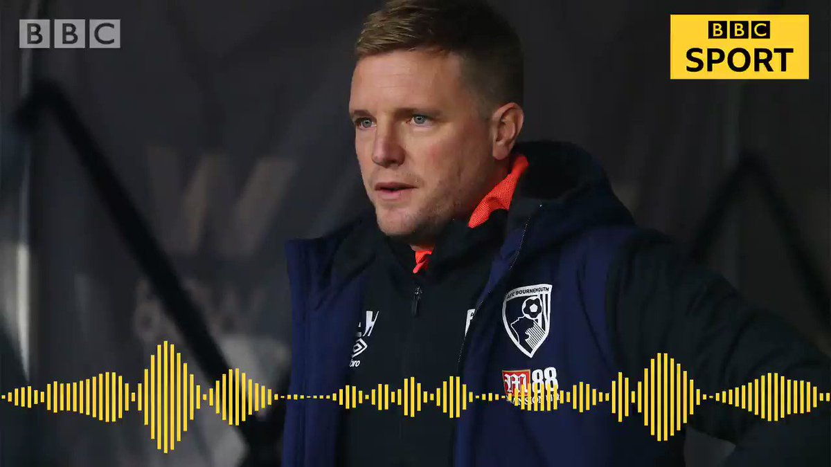 Bournemouth manager Eddie Howe says their current form is a test of their character ahead of a challenging week   Listen to his verdict on the 2-0 defeat at Wovles with @kristemple 🔊👇 #afcb