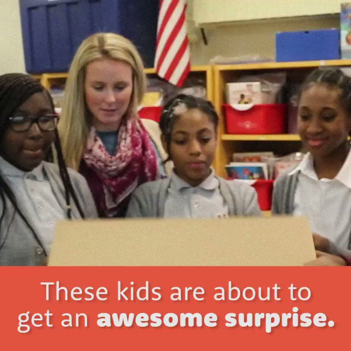 You support a teacher. We deliver the supplies. What happens next?