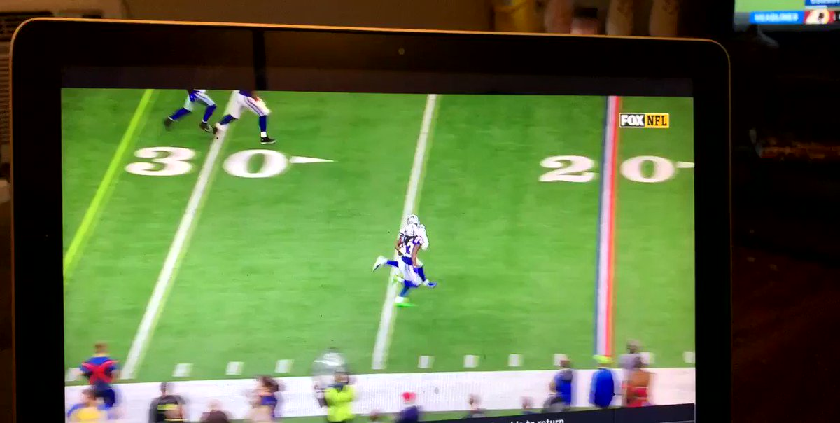 Refs staying consistent. Blatant Pass interference not called. Smh.
