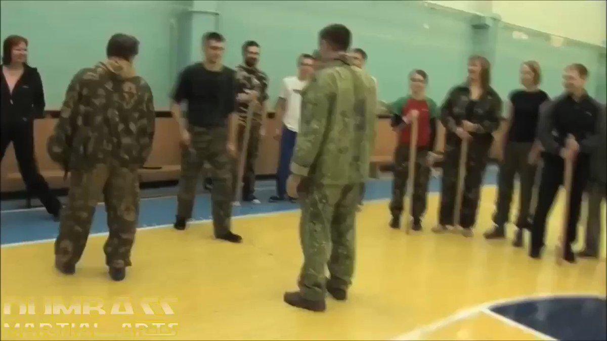 Magic self-defense #dumbassmartialarts #notouch #lol #wtf #bullshit #russianmartialarts #specialforces