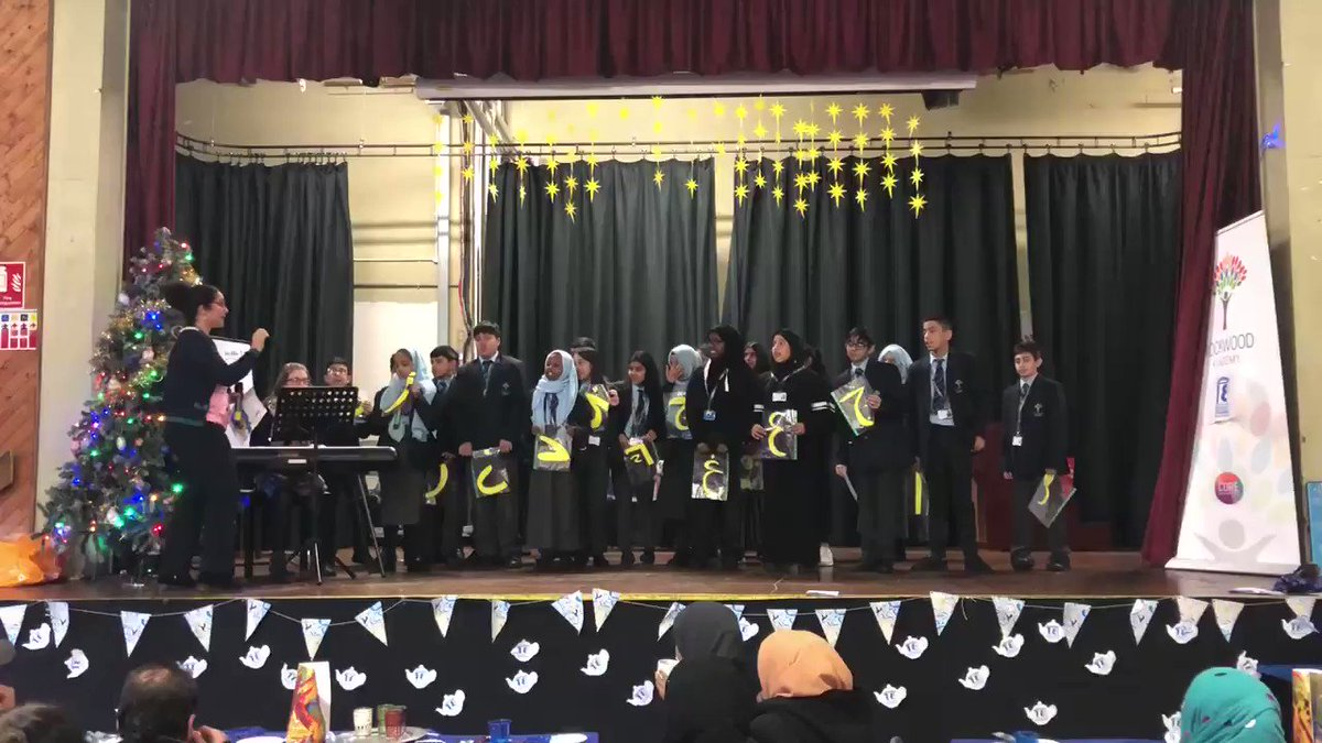 Today is #ArabicLanguageDay! Arabic language students from @CORERockwood celebrated the day early with a series of performances, including these Year 7's and their Arabic Choir. #COREexcellence