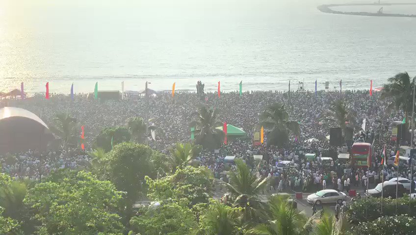 Arguably the biggest crowd ever pulled by the @officialunp since the time of Premadasa or even ever...