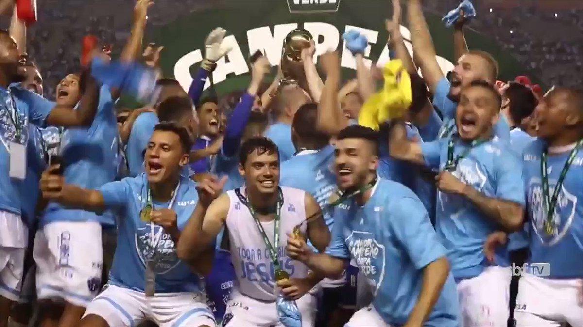 #Retrospectiva2018  Muita festa do Papão na final da Copa Verde! Parabéns, torcida do @Paysandu! 🏆 #CopaVerde  Relembre a história ▶️ http://bit.ly/2A8taGj