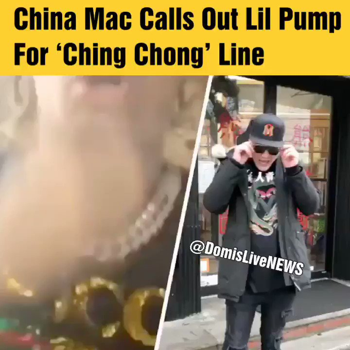 China Mac Calls Out Lil Pump For 'Ching Chong' Line On Butterfly Doors