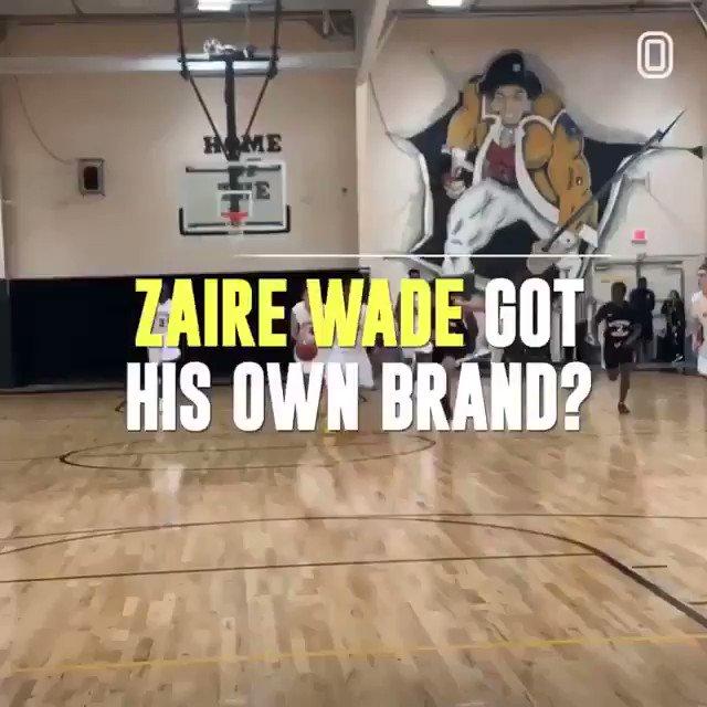 Zaire already making BOSS MOVES 🤩 @DwyaneWade