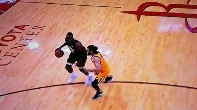 The James Harden double step back.......in slo-motion
