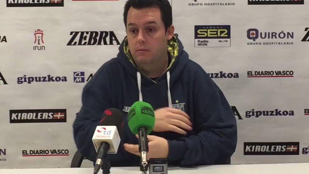 📹 VÍDEO | Jacobo Cuetara, técnico de @CDBidasoaIrun, pasa página de la #CopaAsobal a la #CopaDelRey de #balonmano.
