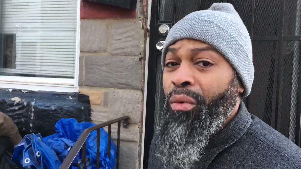 The two roommates of a #StrawberryMansion man who barricaded himself inside his home while  wielding a sword last night say @PhillyPolice saved his life.   Watch @CBSPhilly at noon