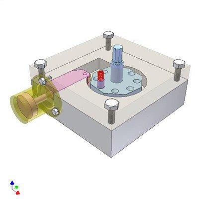 Mechanism for Deg. Rotation