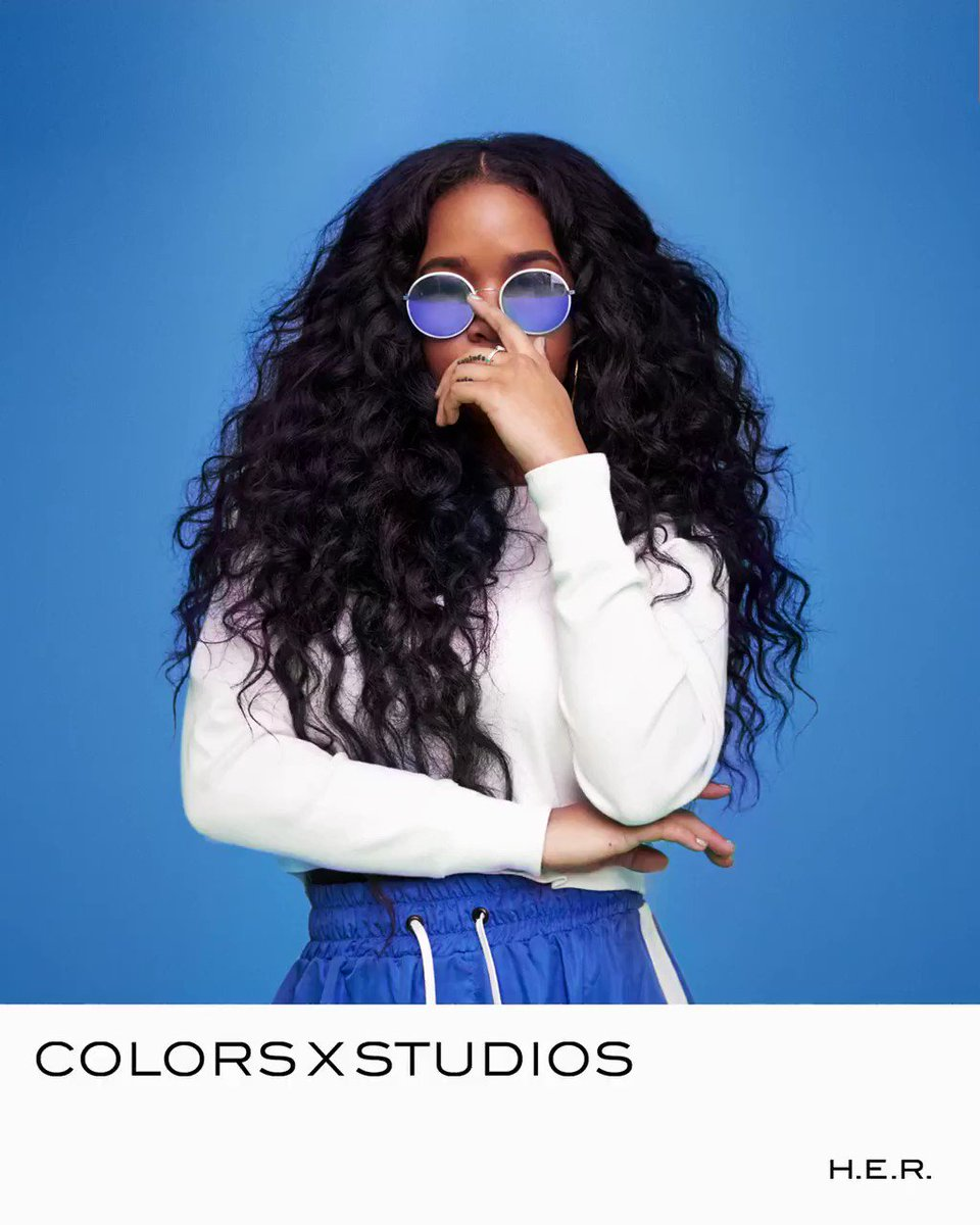 💙 @HERMusicx stopped by @colorsxstudios for a beautiful performance of Carried Away. Check out the full show here: colors.lnk.to/HERcxs