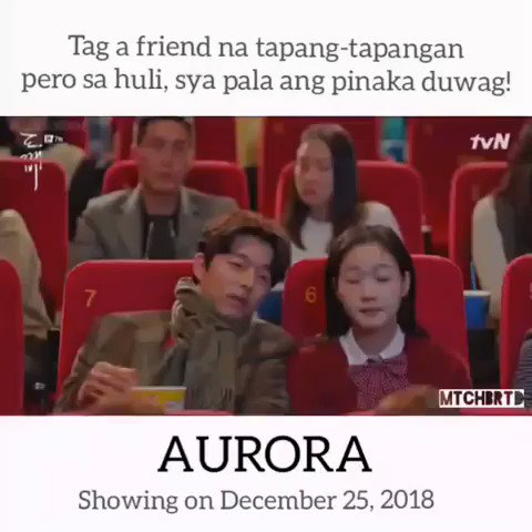 Saw @annecurtissmith liked this post on IG and it's funny 😂 Kaya ikaw itag mo na haha and watch Aurora  Thanks @mtchbrtd for the video! #AURORAPremiere