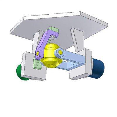 Security Camera of Rotational DOF