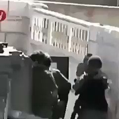 Have a look at the most shameful army worldwide. A Zionist terrorist soldier brutally beat a Palestinian child ! Is this the most moral army in the world ? #BoycottEurovision2019 #Eurovision2019   pic.twitter.com/CJCd7GkNMV