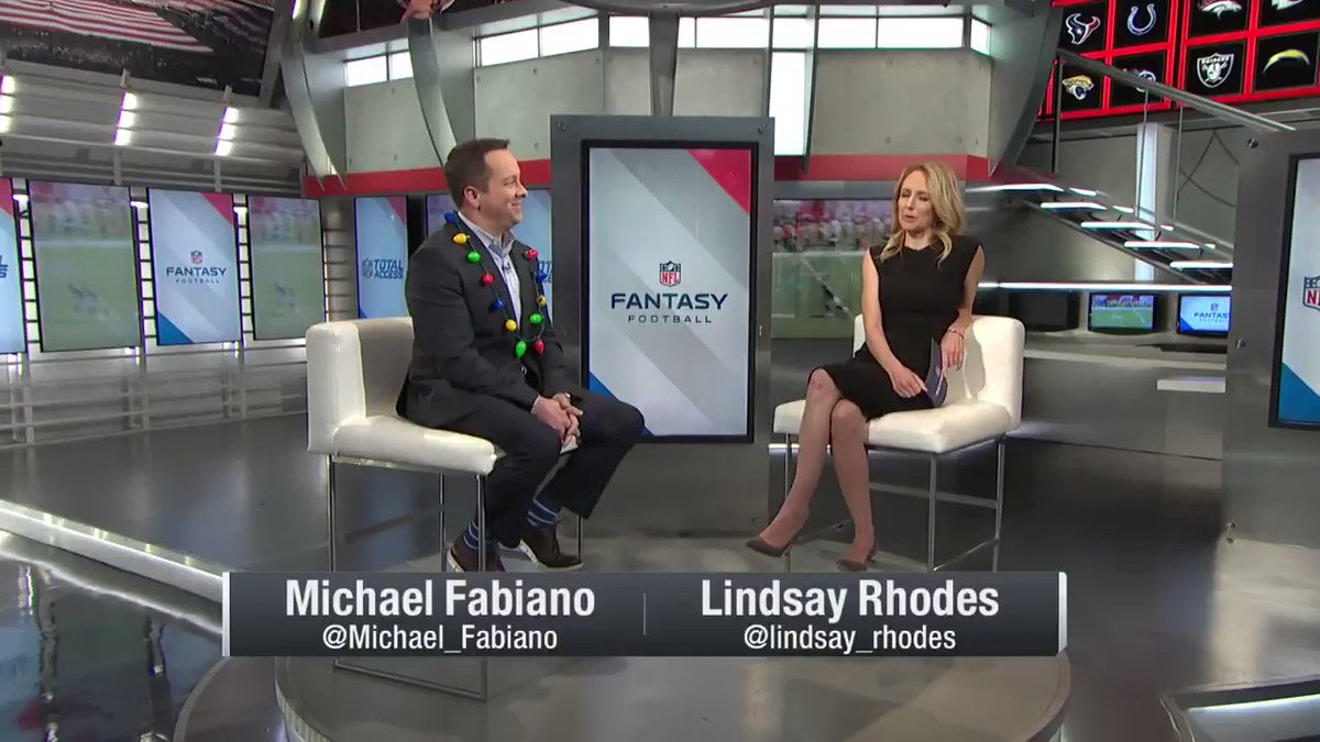 The one where @Michael_Fabiano advises me of ways to beat him in our Fantasy Football Championship