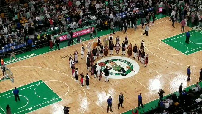 Το «Μακεδονία Ξακουστή» στο γήπεδο των Celtics για χάρη του Αντετοκούνμπο