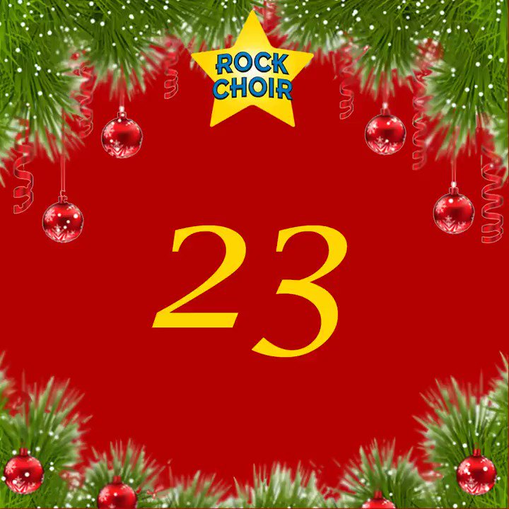 Day 23 of #24DaysofRockChoir🎄There's so many wonderful events throughout the year but the one thing we look forward to every week is our rehearsals with fellow Rockies and wonderful Choir Leaders!⭐🎶 RETWEET now if your rehearsal is the highlight of the week 💛