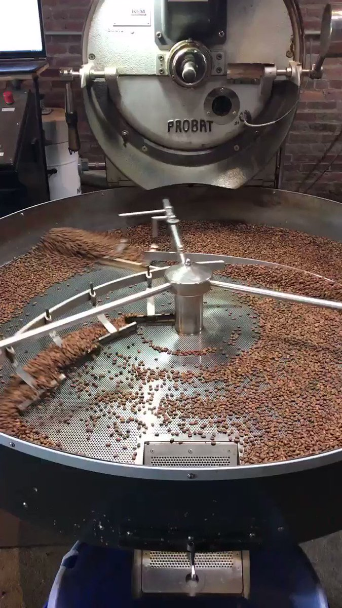 Roasting ☕️ today. . . 🎄🎉 @GothamRoasters @chriscalkins #coffee #java #itsveryloud